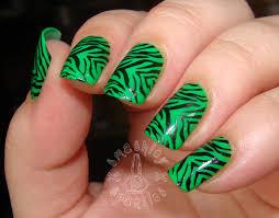 nail designs zebra nails gallery