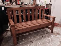 Best Outdoor Wood Furniture Stain Top 63 Divine Wooden Outdoor Benches Black Choose The Best Wood