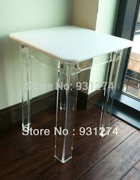 Living Room Corner Table by Acrylic Side Table Crystal Seriestable George Wavy Acrylic Side
