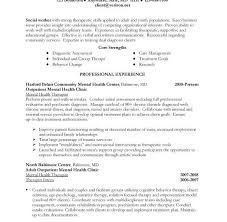 Sample Resume Mental Health Counselor by Examples Of Work Resumes Cv01 Billybullock Us