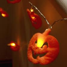 Halloween Party Lights Impressive Display Of Helloween Pumpkin String Lights House