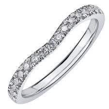 18ct white gold wedding ring maple leaf diamonds 18ct white gold diamond shaped wedding ring