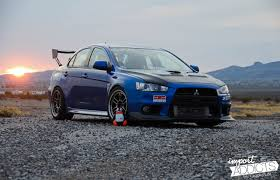 mitsubishi evo stance mistress in blue import addicts welcome to our automotive blog