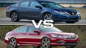 2016 nissan maxima youtube 2016 nissan altima sr vs 2016 honda accord youtube