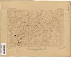 Topographic Map Of Arizona by Maps