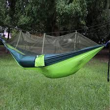 ultralight outdoor camping hunting mosquito net parachute hammock