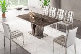 grey marble dining table brown grey v leg dining table marble kk furniture supplier