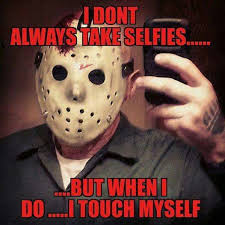 Jason Voorhees Memes - 129 best friday the 13th images on pinterest horror films scary