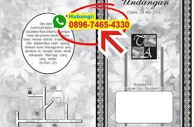 cara membuat undangan bahasa jawa cara membuat undangan khitanan dengan corel draw 0896 7465 4330