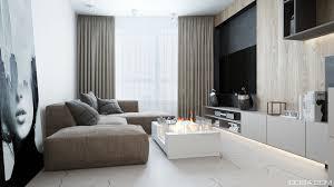 minimalist style interior design park apartment iqosa design architect architecture interior