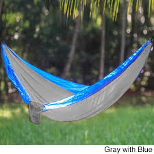 sport force 2 person portable parachute nylon hammock free