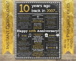 10th wedding anniversary gift ideas new 8 year wedding anniversary gifts daniel pianetti