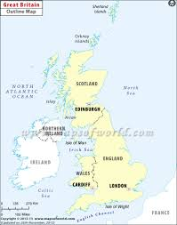 Blank Map Of World Physical by Blank Map Of Britain Outline Map Of Britain