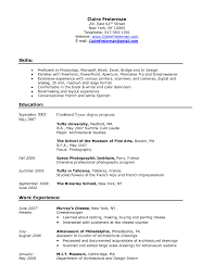 Sample Career Profile For Resume by Resume Template Career Profile Examples Sample With Regard To