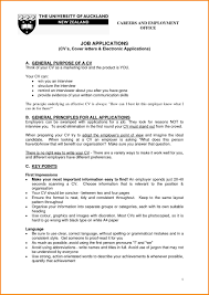 Words Not To Use In A Resume 10 Sample Cv For Job Application Pdf Basic Appication Letter How