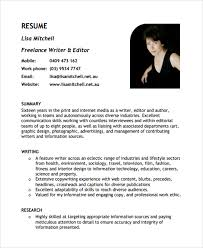 Copywriter Resume Template Sample Freelance Resume Template 8 Free Documents Download In