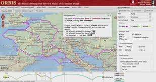 Judea Map New Interactive Map Calculates Travel Times In Ancient Rome