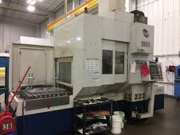 milltronics tt40b twin table bridge type cnc vertical machining