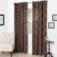 Beaded Curtains At Walmart by Better Homes And Gardens Embroidered Sheer Curtain Panel Walmart Com