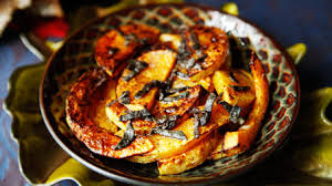 roasted butternut squash with brown butter recipes pbs food