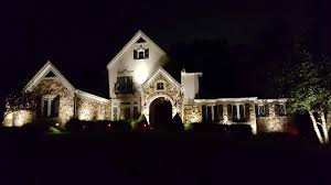How To Install Led Landscape Lighting Led Landscape Lighting St Louis Outdoor Lighting Specialists