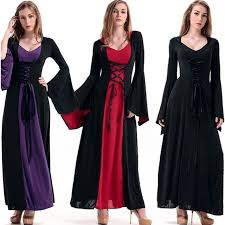 Halloween Costumes Victorian Aliexpress Buy Victorian Halloween Costumes Hoodie Witch