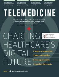 telemedicine magazine issue 1 by telemedicine magazine issuu