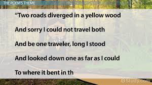 themes in the education of little tree robert frost poetry analysis the road not taken and other poems