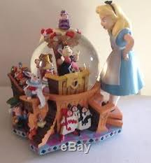 disney in large musical snow globe figurine 50