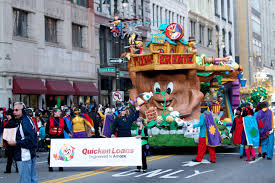 quicken loans unveils new float for america s thanksgiving parade