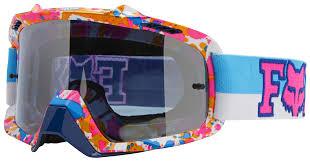 pink motocross goggles fox racing airspc 360 image sx15 atlanta le goggles revzilla