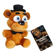 five nights at freddy s halloween costume party city funko five nights at freddy u0027s 6 inch plush figure freddy toys