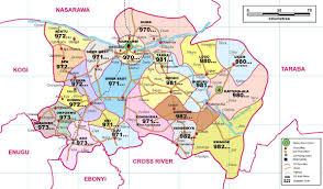 Nigeria State Map by Benue Nigeria U2013 David Olatona