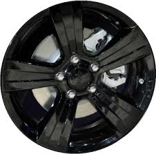 jeep rims black aly2380u45 jeep patriot altitude wheel black painted