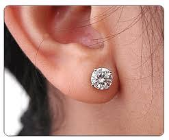 what size diamond earrings 1 carat diamond earrings when size does matter diamondland