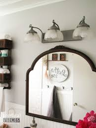 Vintage Style Bathroom Lighting Farmhouse Bathroom Remodel Reveal Prodigal Pieces