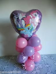 my pony balloons my pony foil balloon decoration table display pony