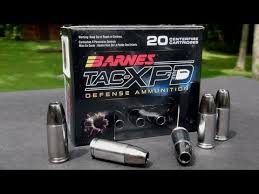 Barnes Tac Xpd 45 Acp Ammo Review Barnes 9mm 115 Gr Tac Xpd Copper Hollowpoint Youtube