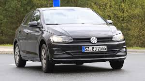 volkswagen sedan 2018 2018 vw polo spied with very little camouflage