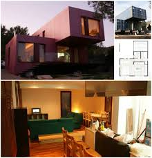 cantilevered shipping container home 2
