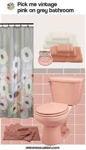 retro pink bathroom ideas vintage pink and maroon bathroom design ideas retro artdeco