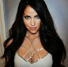 attractive middle aged women dark hair 233 best video models images on pinterest faces beautiful