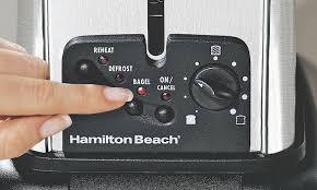 Hamilton Beach Toaster 4 Slice Hamilton Beach Toasters Groupon Goods