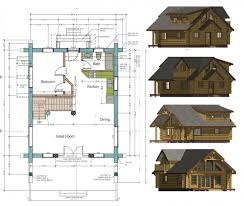 free log cabin floor plans home decor small with loft totally diy