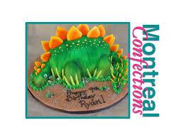dinosaur cakes how to make dinosaur cake complete tutorial stegosaurus