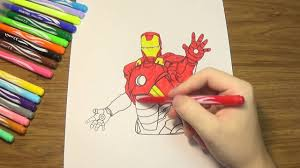iron man coloring pages how to color iron man avengers coloring
