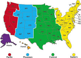 map showing time zones in usa time zones why do we them by onlineclock
