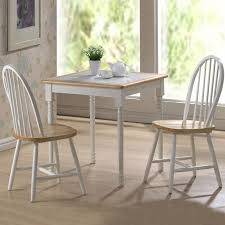 Boraam Farmhouse  Piece Tile Top Rectangular Dining Set Hayneedle - Tile top kitchen table and chairs