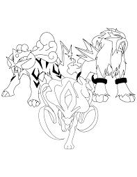 entei pokemon outline images pokemon images