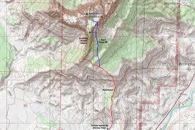 hitheater map mount kinesava cowboy ridge lemke climbs